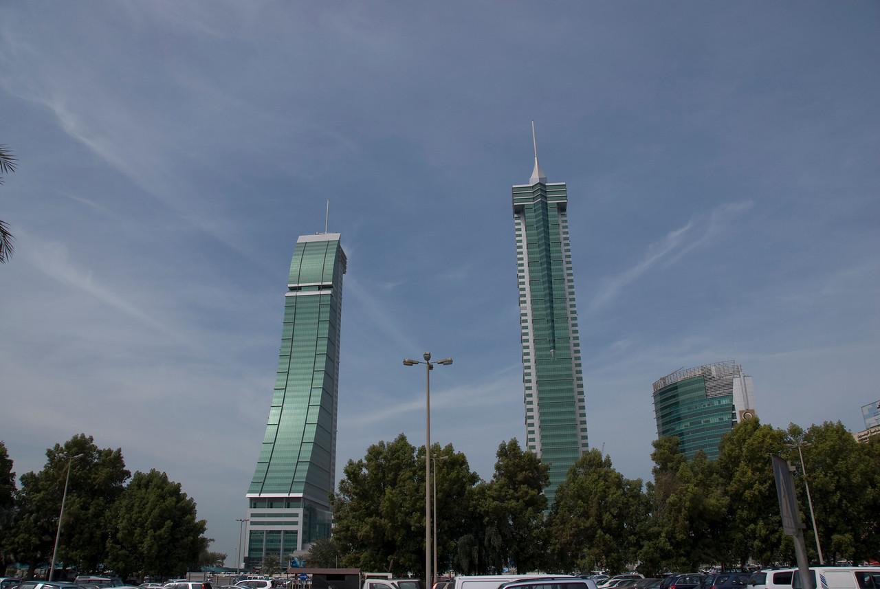 Bahrain Financial Harbour Towers in Manama, Bahrain