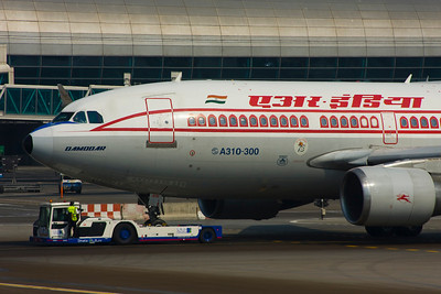 Airbus A310 of Air India. Cool!