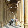 Walking at the Alabaster Mosque