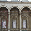 Inner courtyard at the Alabaster Mosque