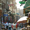 Walking in the old Muslim Quarter of Cairo