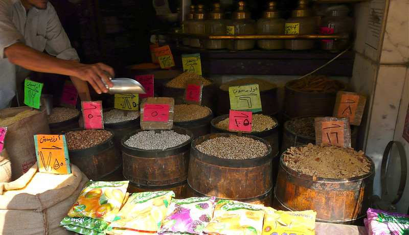 Spice shop in Cairo