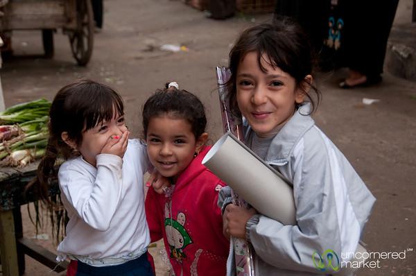 Laughing Egyptian Girls - Alexandria