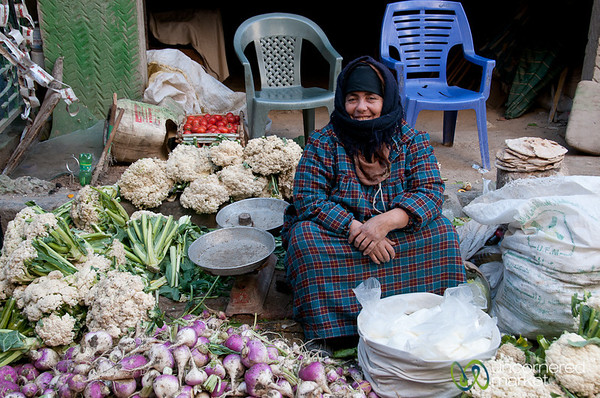 Vegetable Vendor in Alexandria, Egypt