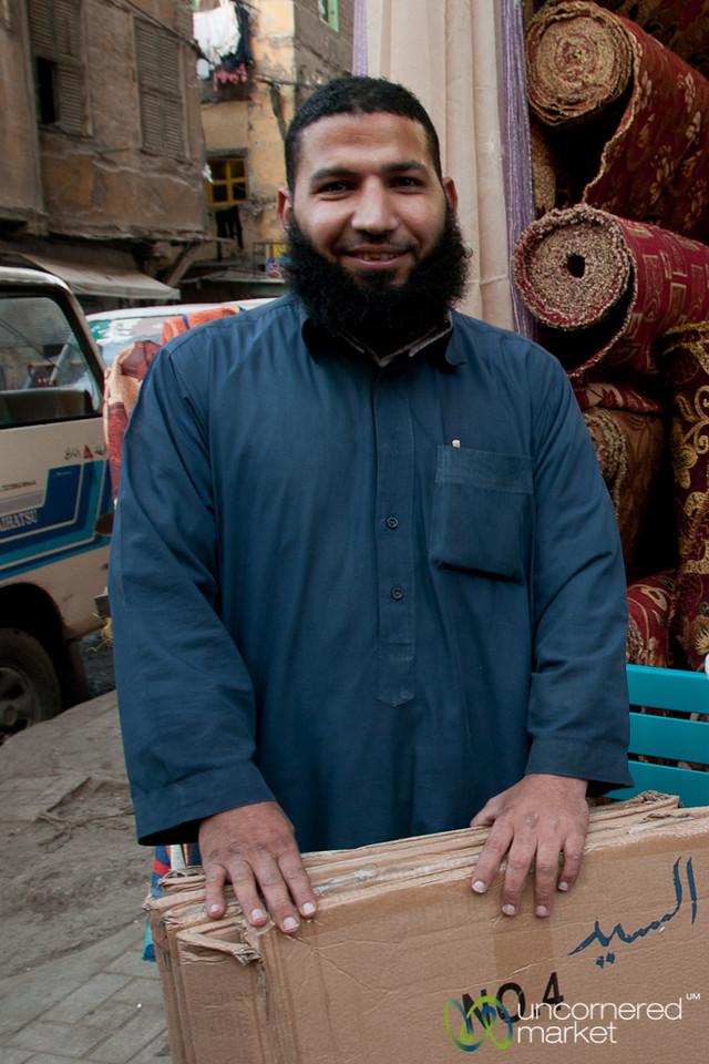 Egyptian Man in Alexandria, Egypt