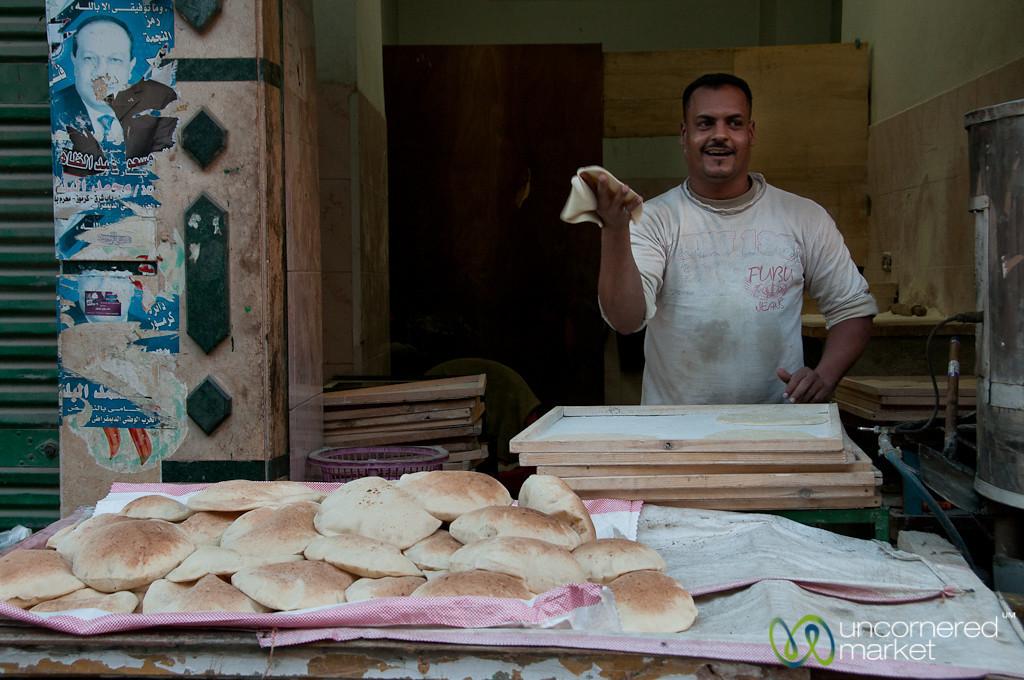 Pita Maker of Alexandria, Egypt