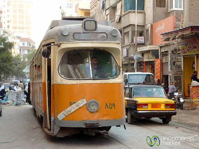 Alexandria Tram - Egypt
