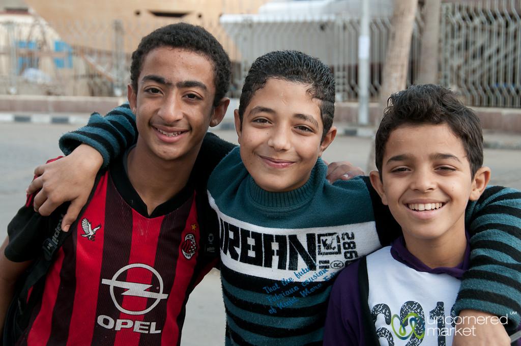 Egyptian School Boys - Alexandria, Egypt