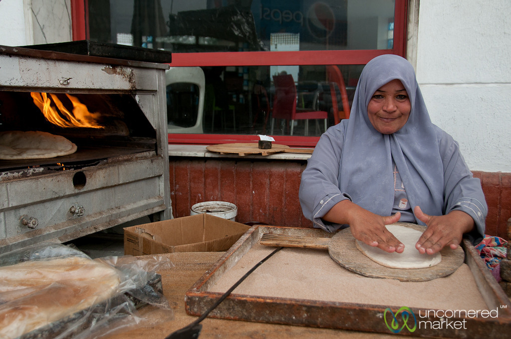 Making Egyptian Bread - Egypt