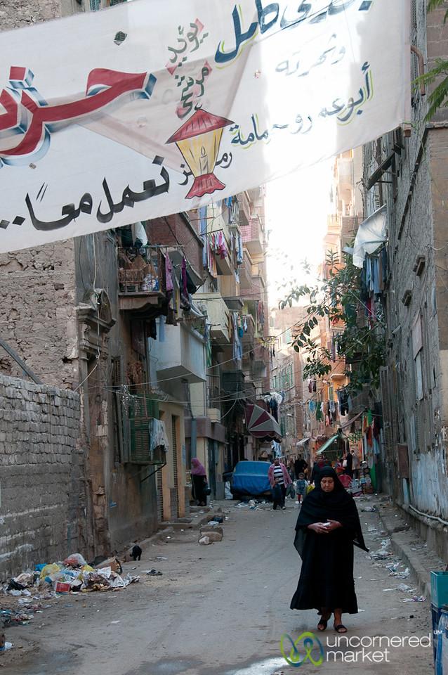 Alexandria Street Scene - Egypt