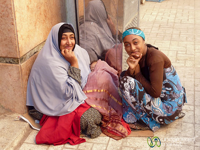 Egyptian Women in Alexandria, Egypt