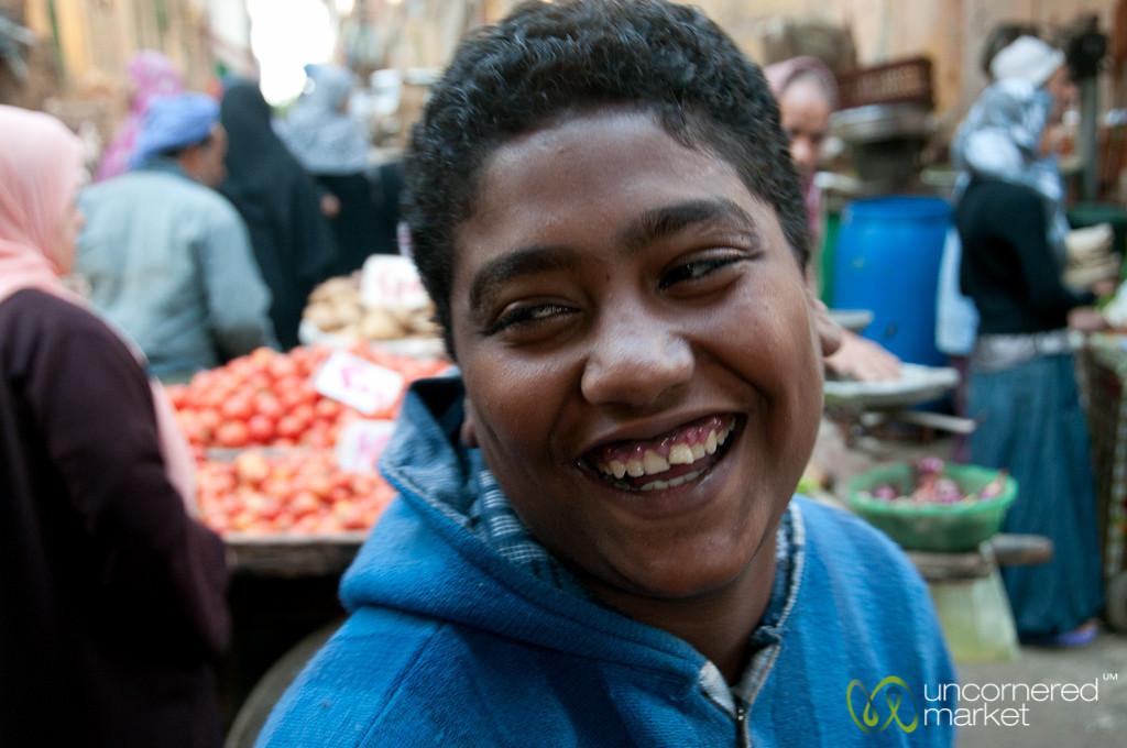 Egyptian Young Man - Alexandria, Egypt
