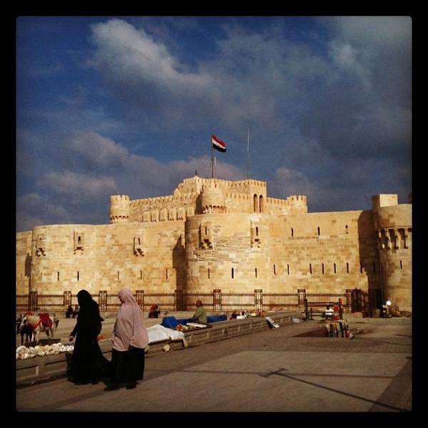 Qaitbey Citadel - Alexandria #egyptok #Egypt