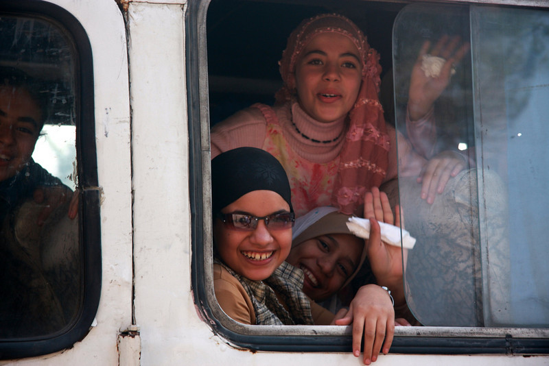 2007: Cairo, The Giza Pyramids & local Atmosphere
