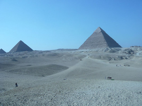 The Pyramid in Cairo