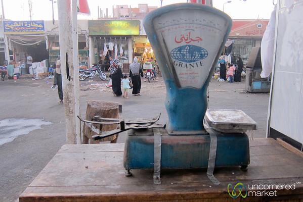 Hurghada Market Scale - Egypt
