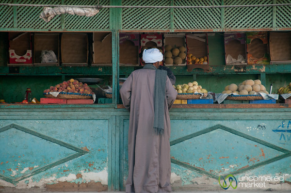 Shopping for Vegetables in El Quseir, Egypt