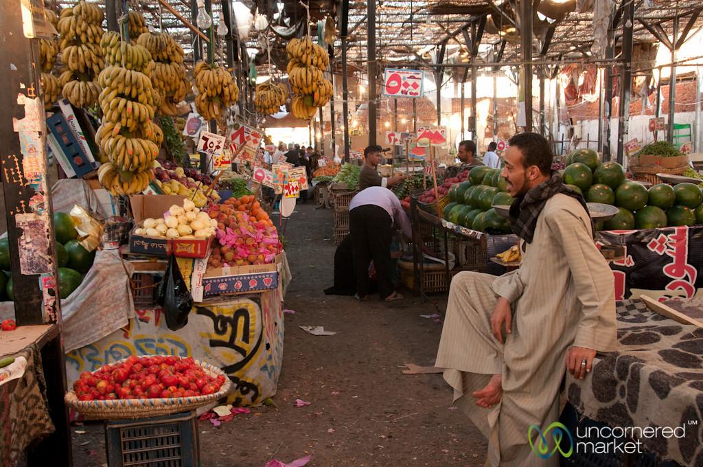 Inside Hurghada's Food Market - Egypt