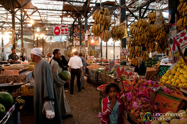 Hurghada's Fresh Market - Egypt
