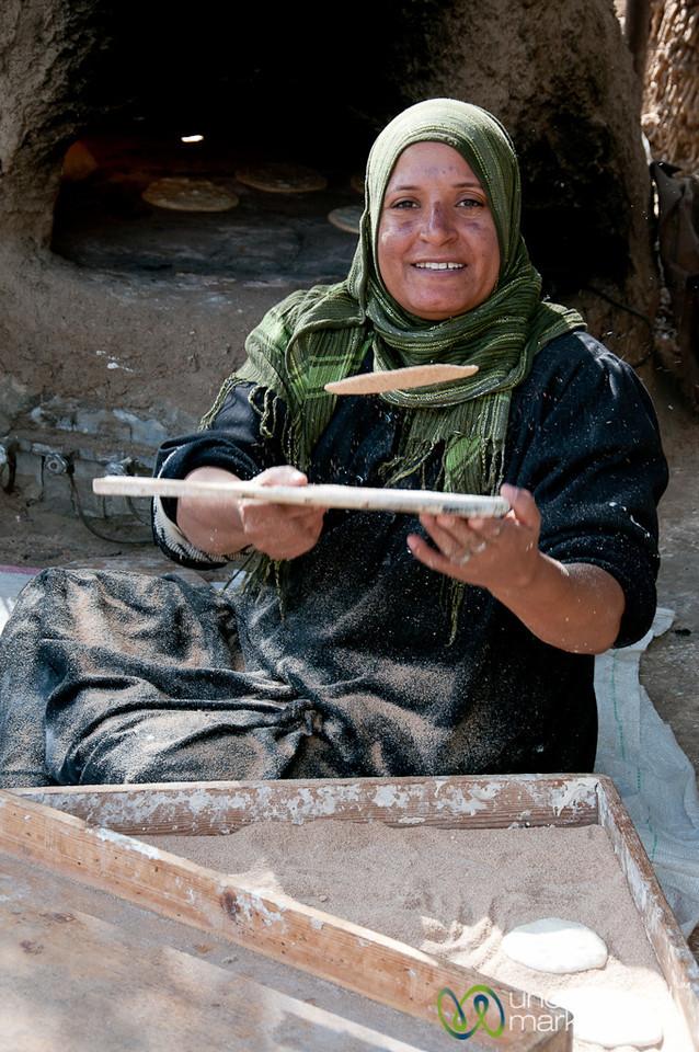 Making Egyptian Flatbread - Cairo, Egypt
