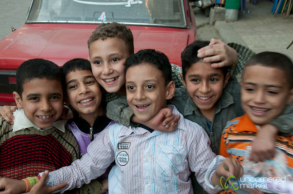 Egyptian Boys - Alexandria, Egypt
