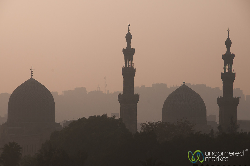 Cairo Skyline with Mosques - Egypt