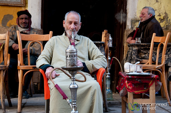 Hookah Pipe Time - Alexandria, Egypt