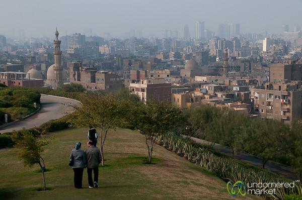 Cairo City View from Al-Azhar Park