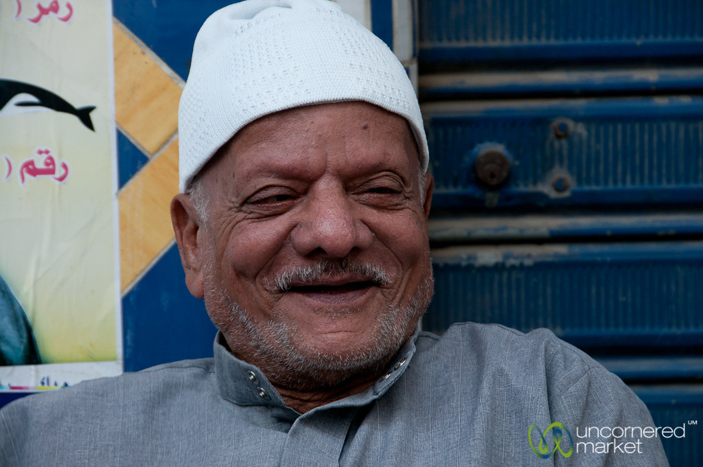 Elder Egyptian Man - Alexandria, Egypt