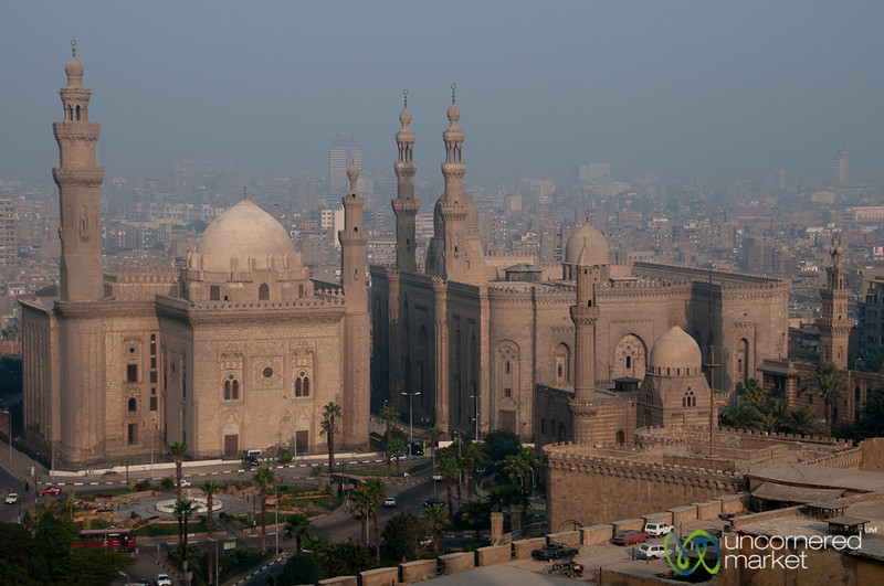 Mosque Views in Cairo, Egypt