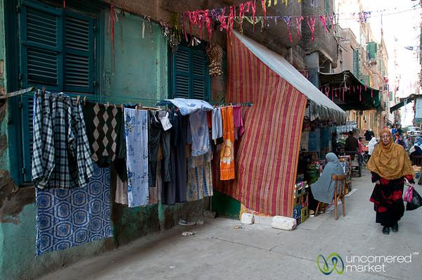 Old Alexandria Street Scene - Egypt