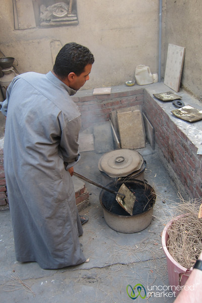 Handmade Pottery at Tunis - Fayoum, Egypt