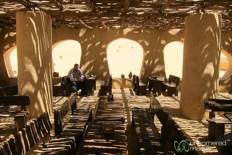 Tea House in the Desert - Fayoum, Egypt