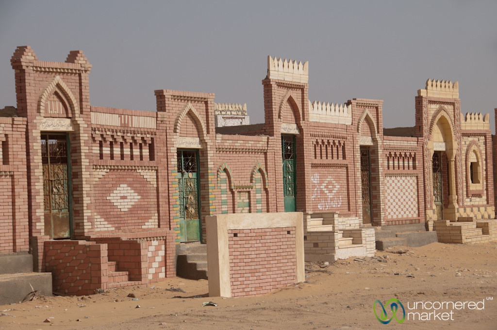 Colorful Cemetery in the Desert - Cairo to Fayoum, Egypt