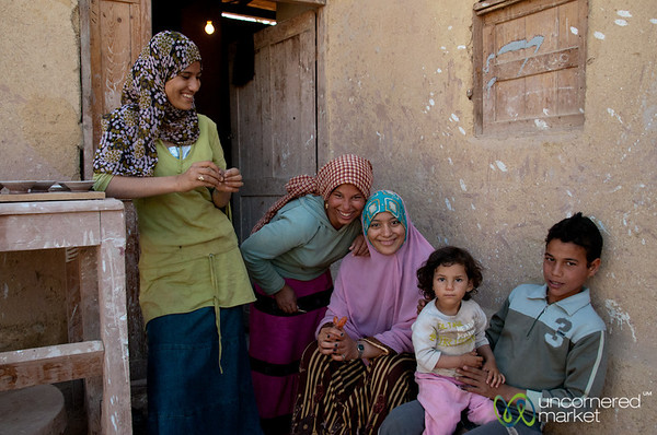 Smiles on the Kids in Tunis, Egypt