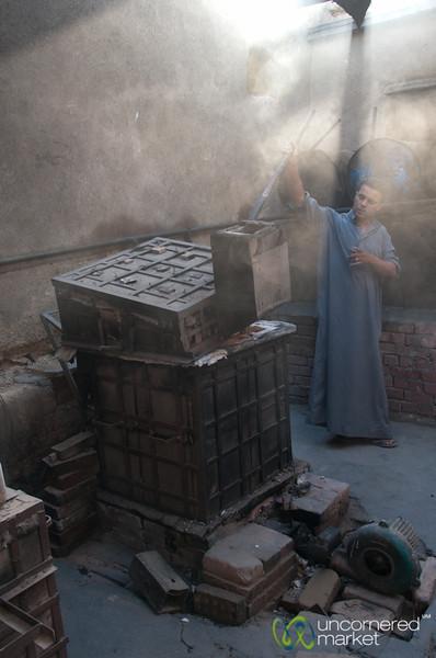 Handmade Pottery at Tunis - Fayoum, Egypt