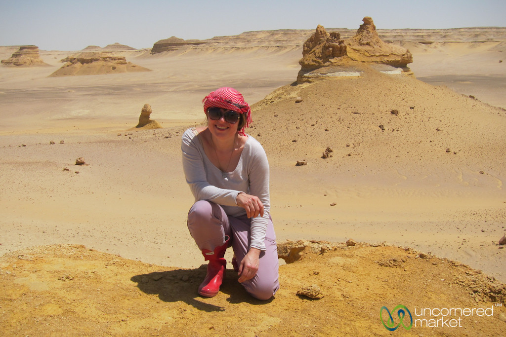 Erica of the Desert - Valley of the Whales, Egypt