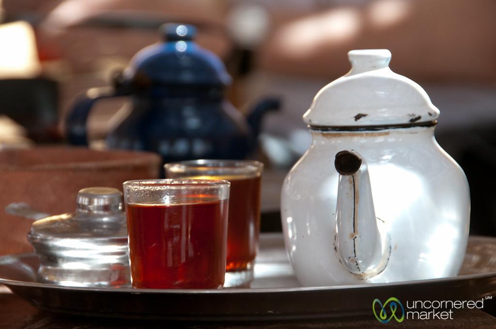 Tea in the Desert - Fayoum, Egypt