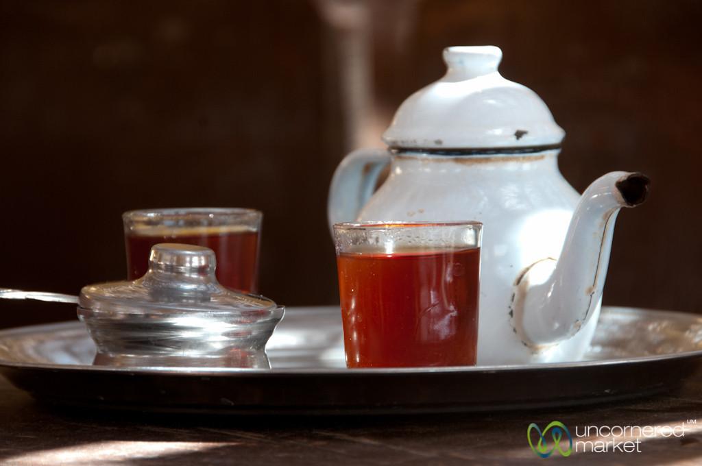 Egyptian Tea in the Desert - Fayoum, Egypt