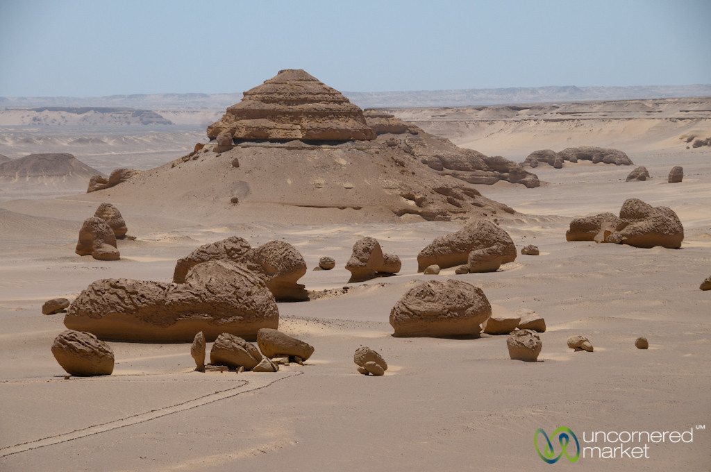 Valley of the Whales - Fayoum, Egypt