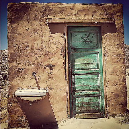 Doorway in the desert, Hurghada #WeVisitEgypt