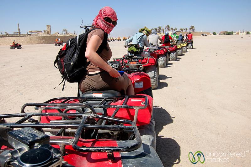 Quad Biking Through the Desert - Hurghada, Egypt