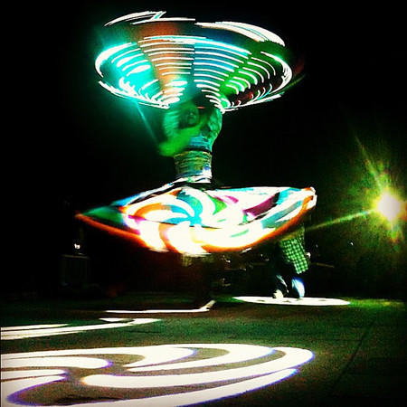 Tanoura, the Egyptian dervish goes electric, Marsa Alam #WeVisitEgypt