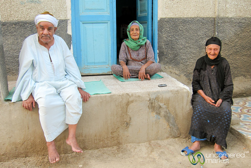 Egyptian Family in El Quseir - Egypt