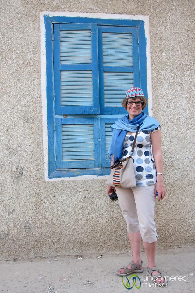 Erica in El Quseir, Egypt