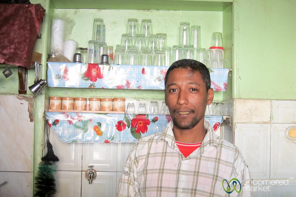 Tea Cafe Owner in El Quseir, Egypt
