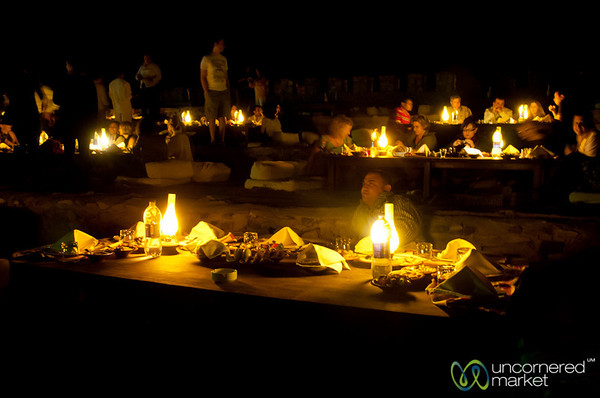 Dinner in the Desert - Marsa Alam, Egypt