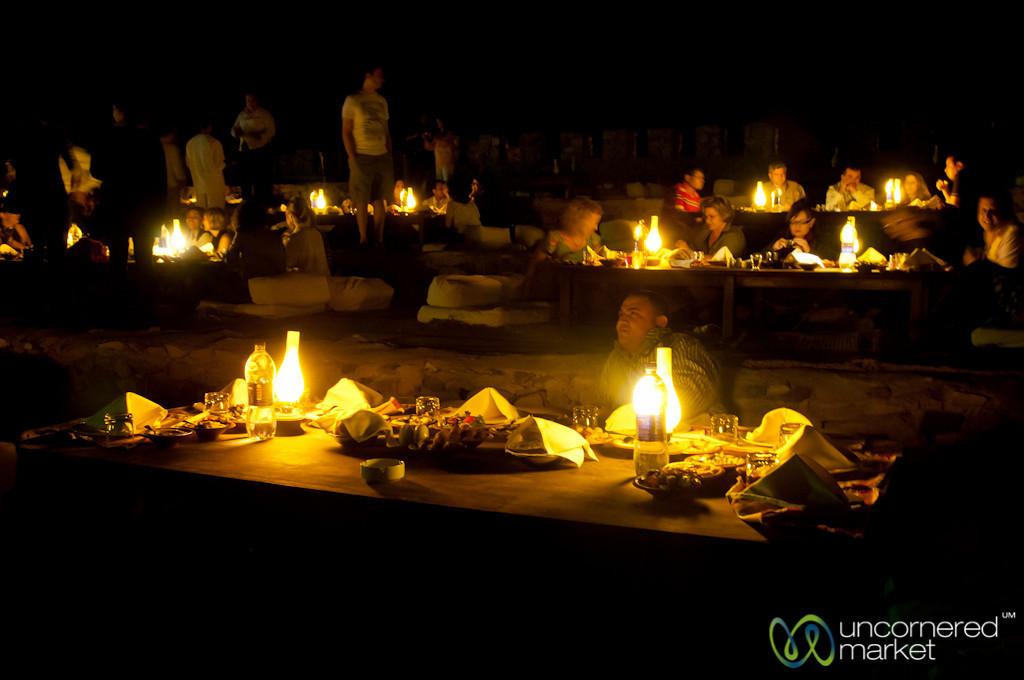 Dinner in the Desert - Marsa Alam, Egypt
