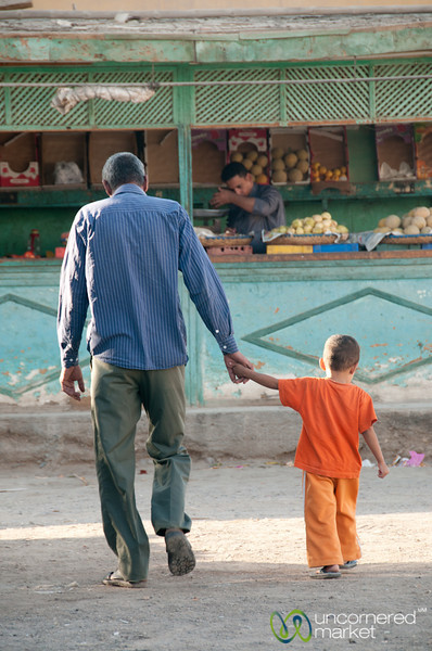 Father and Son in El Quseir - Egypt