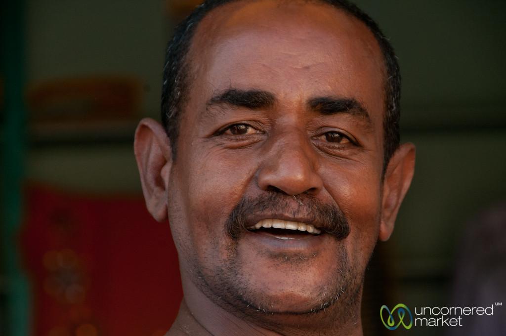 Egyptian Man in El Quseir - Marsa Alam, Egypt
